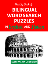 Load image into Gallery viewer, The Big Book of Bilingual Word Search Puzzles in English and Italian