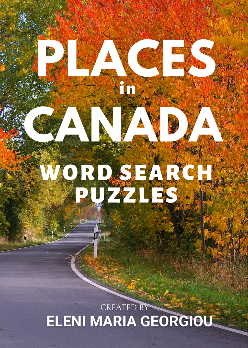 Places in Canada Word Search Puzzles