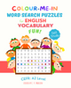 Colour-Me-In Word Search Puzzles for English Vocabulary Fun! A2 Level