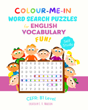 Lade das Bild in den Galerie-Viewer, Colour-Me-In Word Search Puzzles for English Vocabulary Fun! B1 Level