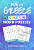 Fun in Greece Color In Word Puzzles