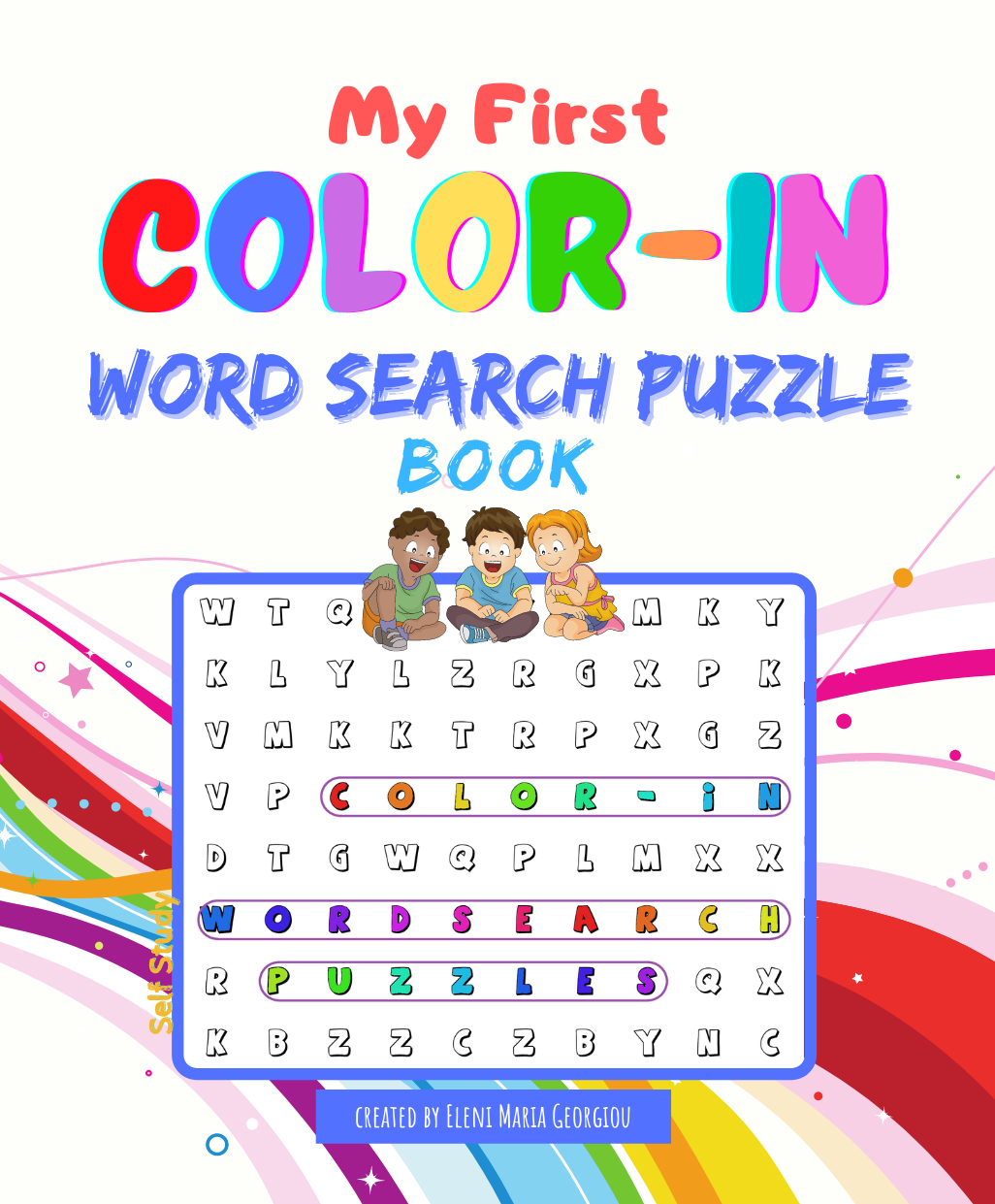 My First Color-In Word Search Puzzle Book