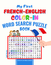 Charger l'image dans la galerie, My First French-English Color-In Word Search Puzzle Book