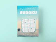 Lade das Bild in den Galerie-Viewer, My Vacation in Greece SUDOKU Puzzles: Sunset Edition
