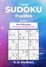 Load image into Gallery viewer, I Love Sudoku Puzzles - Book 2