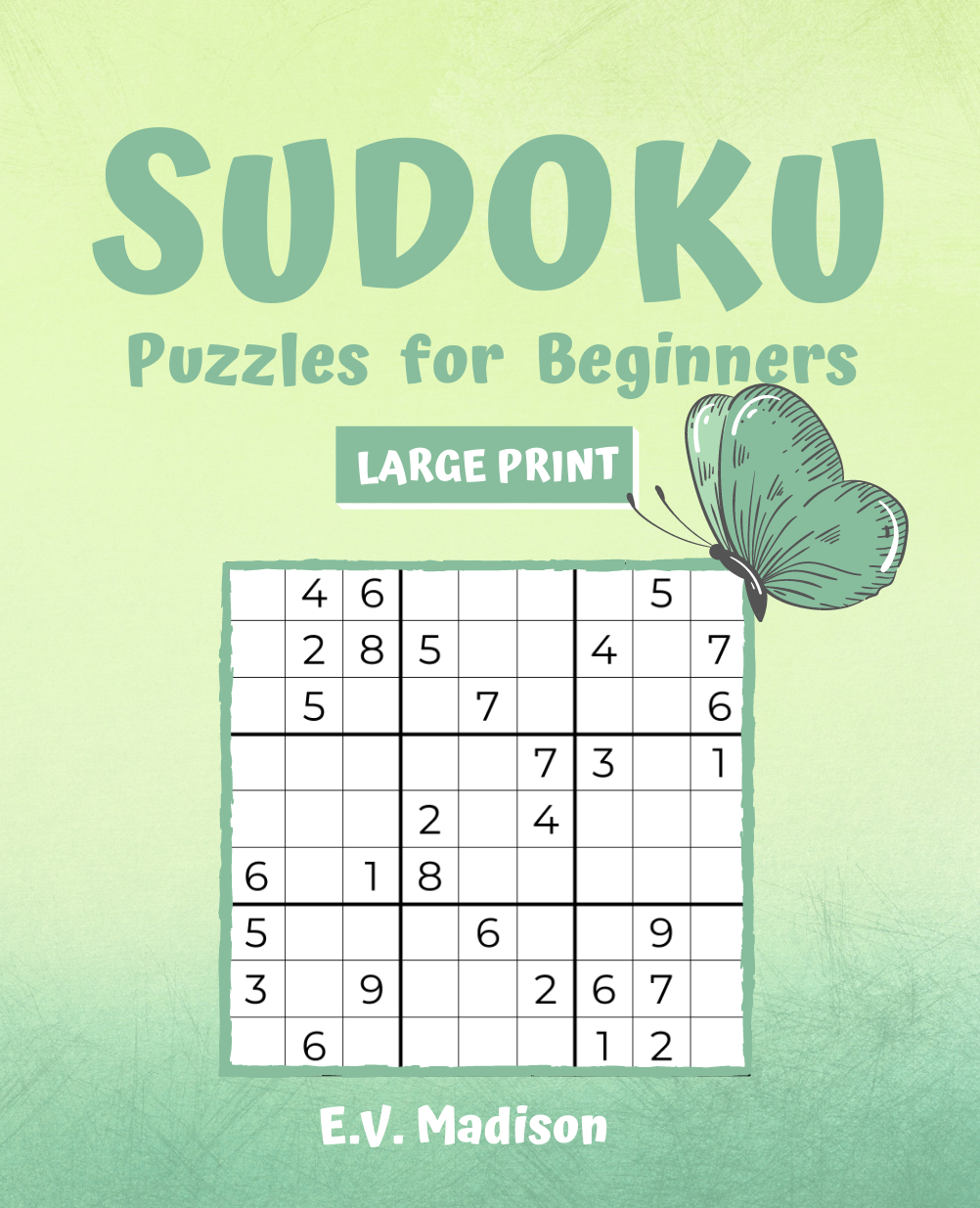 SUDOKU Puzzles for Beginners - LARGE PRINT