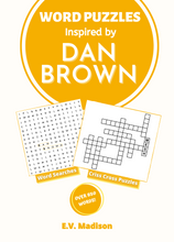 Load image into Gallery viewer, Word Puzzles Inspired by Dan Brown