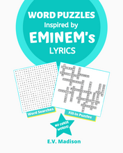 Load image into Gallery viewer, Word Puzzles Inspired by EMINEM's Lyrics