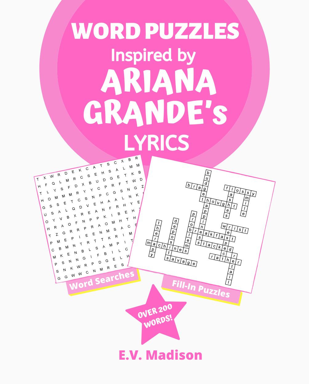 Word Puzzles Inspired by ARIANA GRANDE's Lyrics
