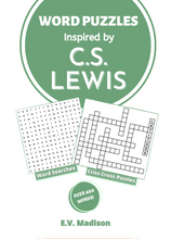 Load image into Gallery viewer, Word Puzzles Inspired by C. S. Lewis