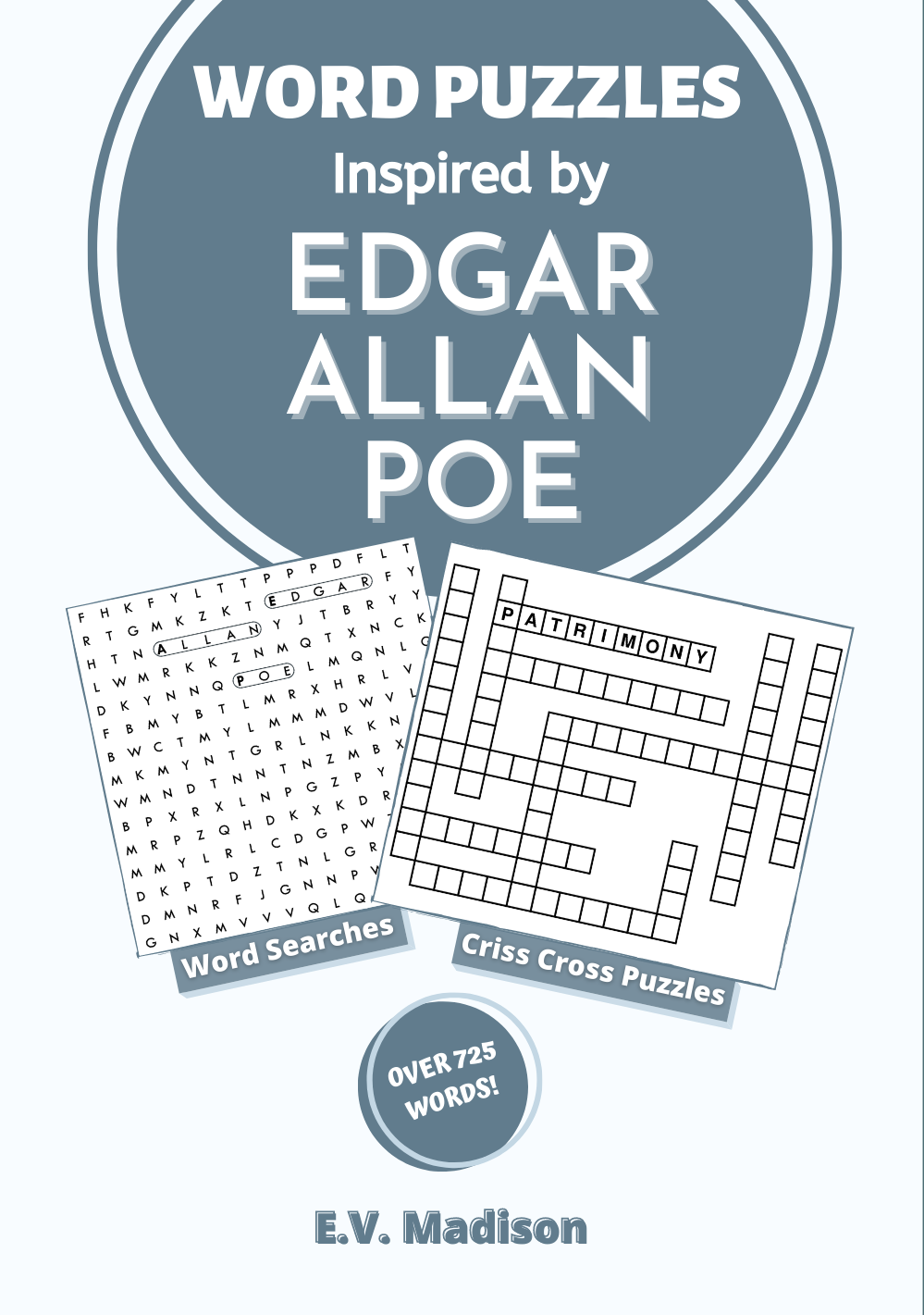 Word Puzzles Inspired by Edgar Allan Poe