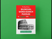 Load and play video in Gallery viewer, The Big Book of Bilingual Word Search Puzzles in English and Italian