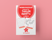 Load image into Gallery viewer, Word Puzzles Inspired by TAYLOR SWIFT's Lyrics