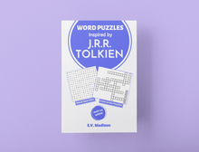 将图片加载到图库查看器,Word Puzzles Inspired by J. R. R. Tolkien