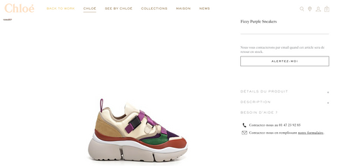 basket chloe chaussures luxe snakers mode