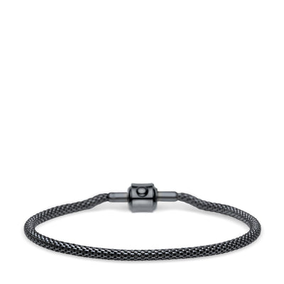 BERING Arctic Symphony Black Bracelet Large - H&H Jewellery Pty Ltd
