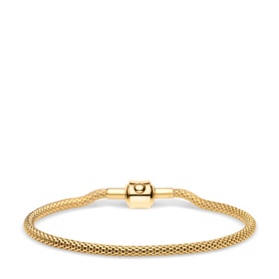 BERING Arctic Symphony Gold Bracelet Medium - H&H Jewellery Pty Ltd