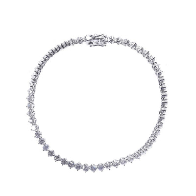 18K Gold Diamond Tennis Bracelet - 20479534 - H&H Jewellery Pty Ltd