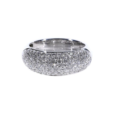 18K Gold Diamond Pave Ring - 20558451 - H&H Jewellery Pty Ltd