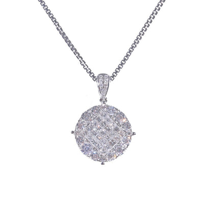 18K Gold Diamond Pendant - 20560065 - H&H Jewellery Pty Ltd
