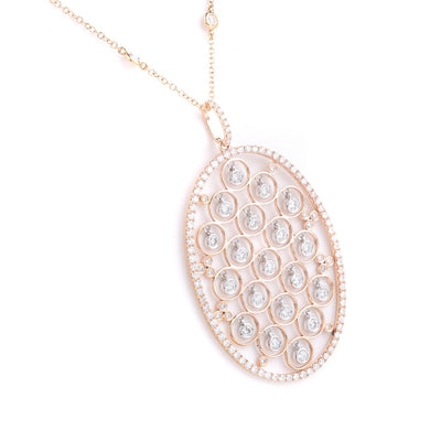 18K Gold Diamond Pendant - 20568597 - H&H Jewellery Pty Ltd