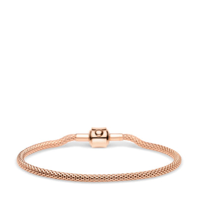 BERING Arctic Symphony Rose Gold Bracelet Small - H&H Jewellery Pty Ltd