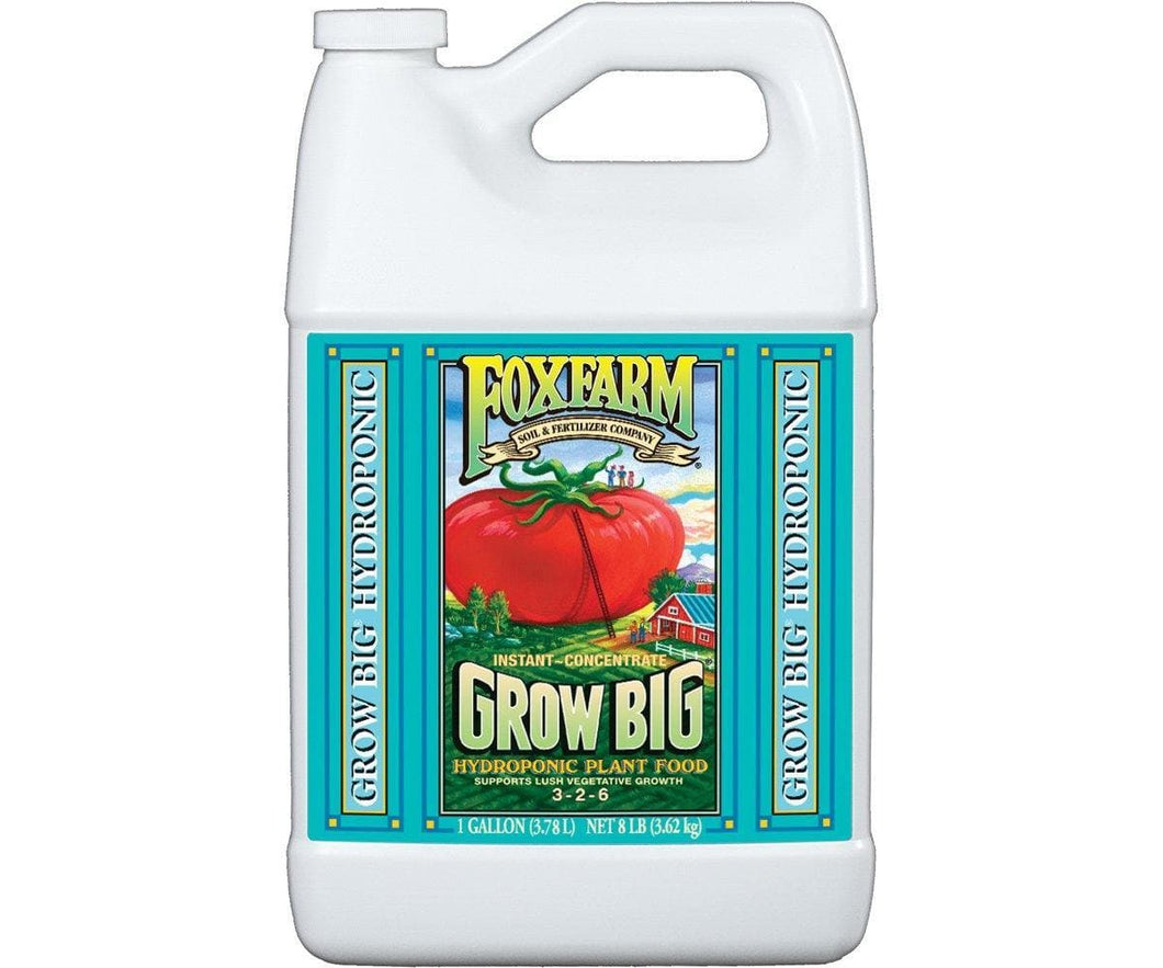 Grow Big Hydro Liquid Concentrate, 1 gal - Elevated Lighting Company