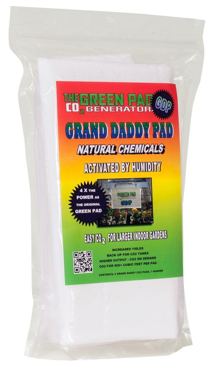 Green Pad CO2 Grand Daddy Pad, pack of 2 w/ 1 Hanger - Elevated Lighting Company