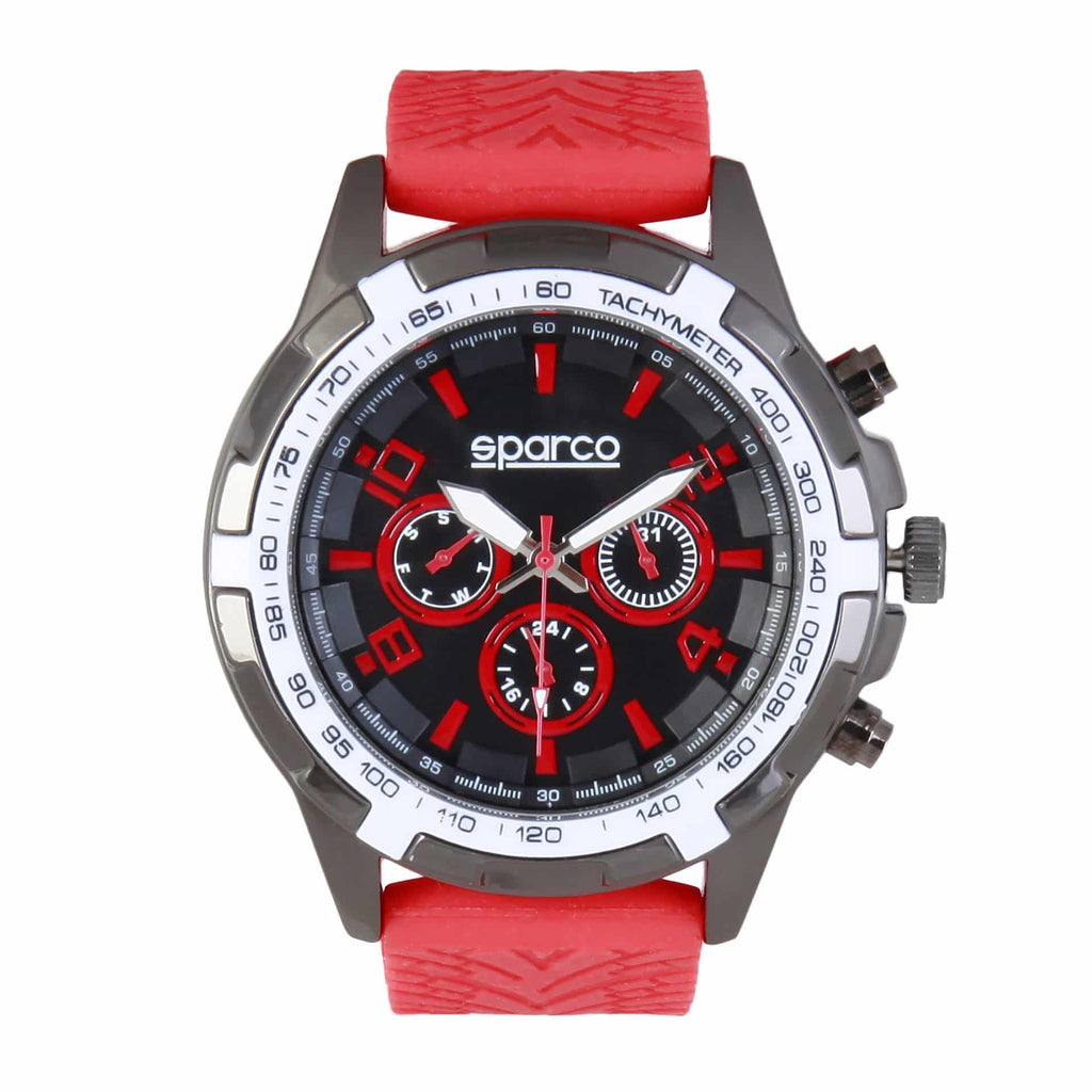 Montre Sparco Eddie Rouge sparcofashion.fr