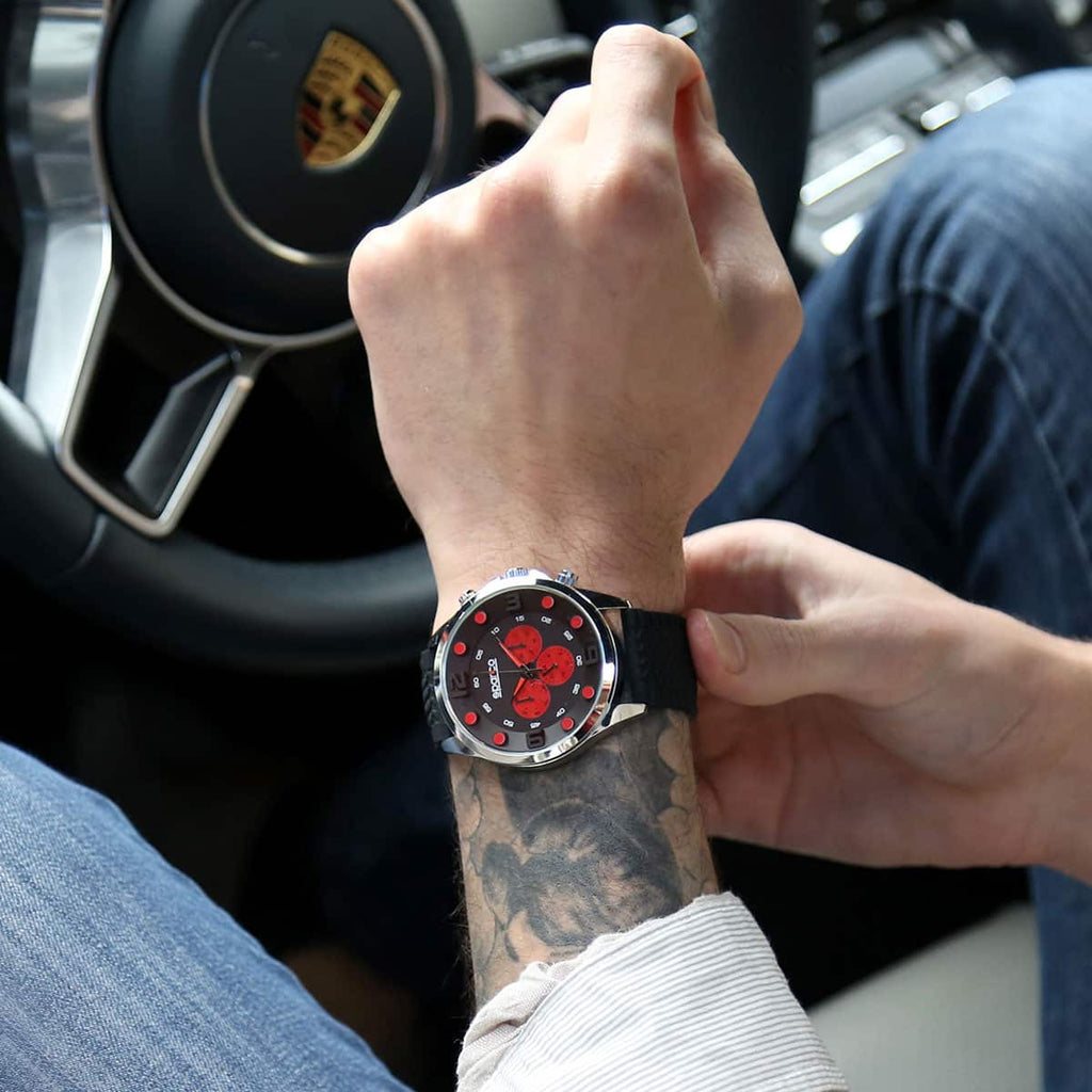 Montre Sparco Fernando Rouge sparcofashion.fr