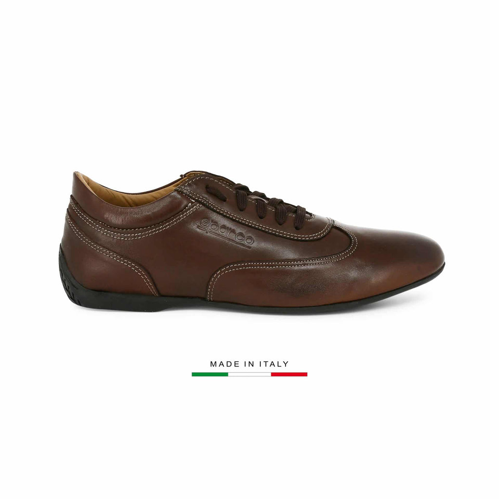 Sneakers Sparco Imola GP Marron sparcofashion.fr