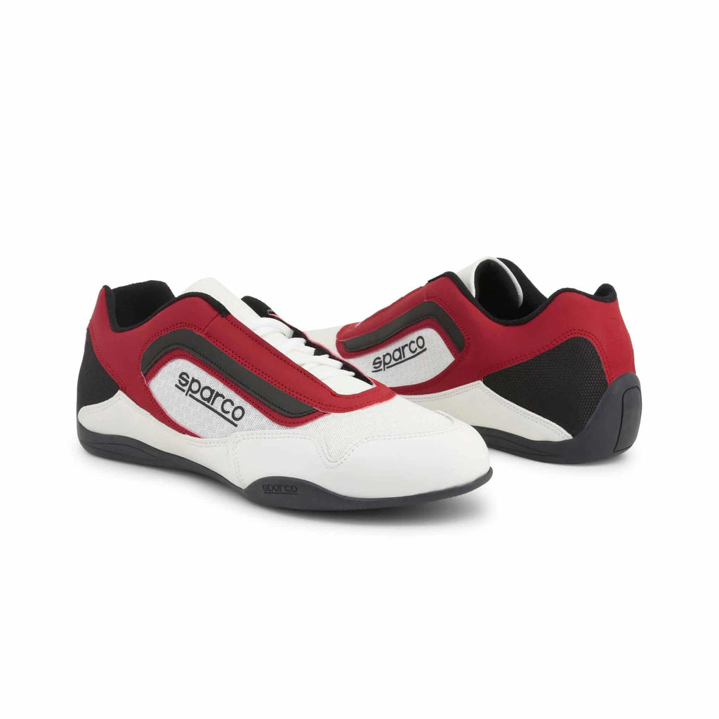 Sneakers Sparco Jerez Blanc/Rouge esprit racing Sparco Fashion
