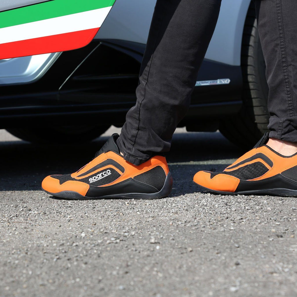Sneakers Sparco Jerez Orange/Noir esprit racing Sparco Fashion