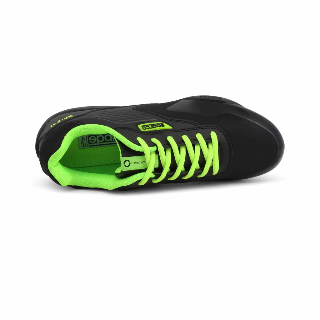 Sneakers Sparco SP-F11 Noir/Fluo esprit racing Sparco Fashion