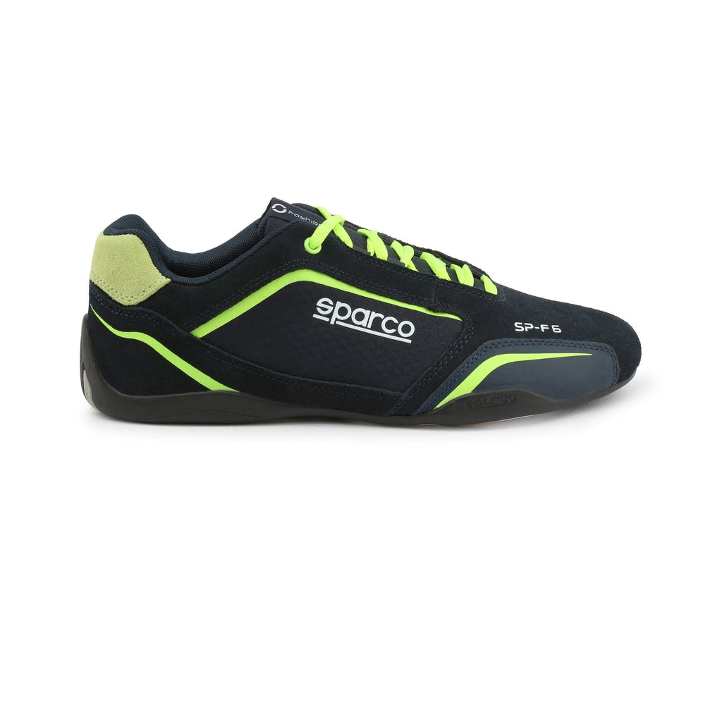 Sneakers Sparco SP-F6 Bleu/Fluo esprit racing Sparco Fashion