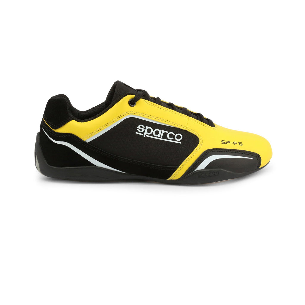 Sneakers Sparco SP-F6 Noir/Jaune esprit racing Sparco Fashion