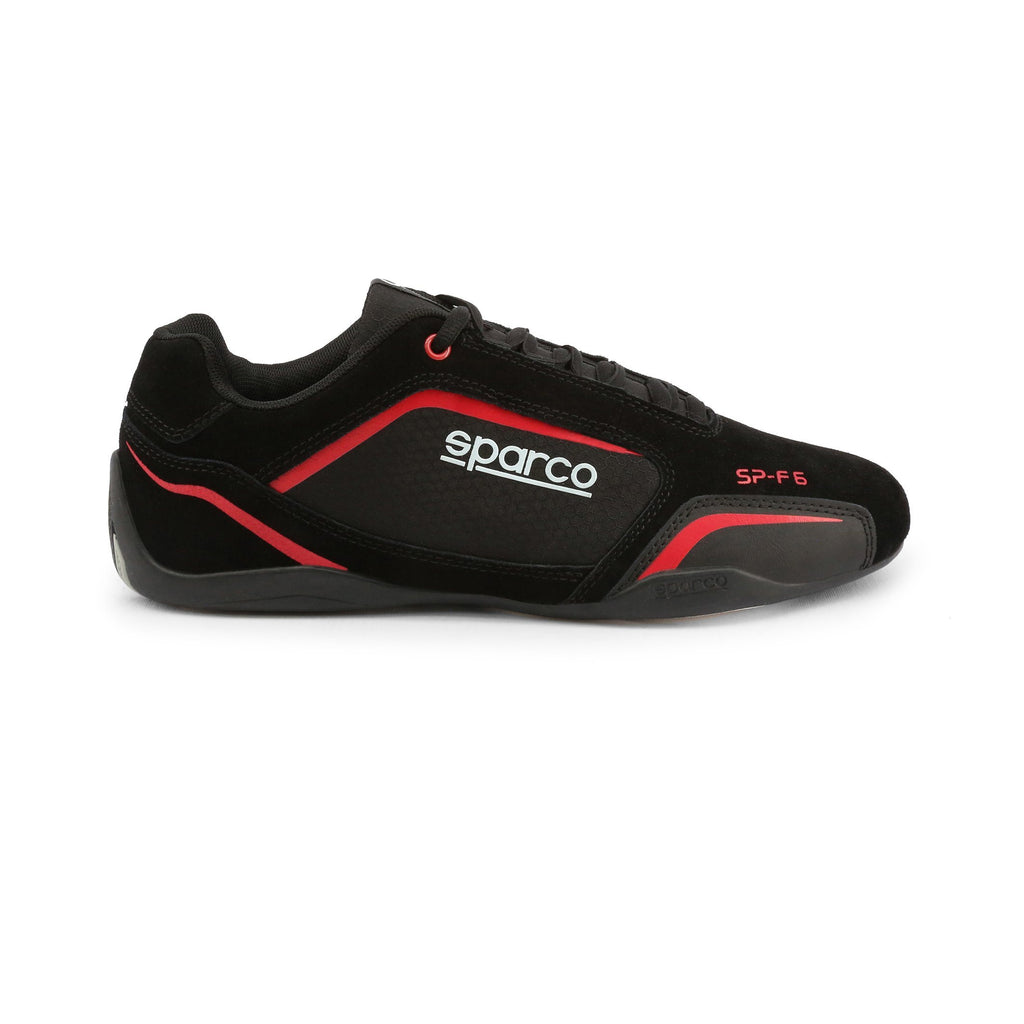 Sneakers Sparco SP-F6 Noir/Rouge esprit racing Sparco Fashion