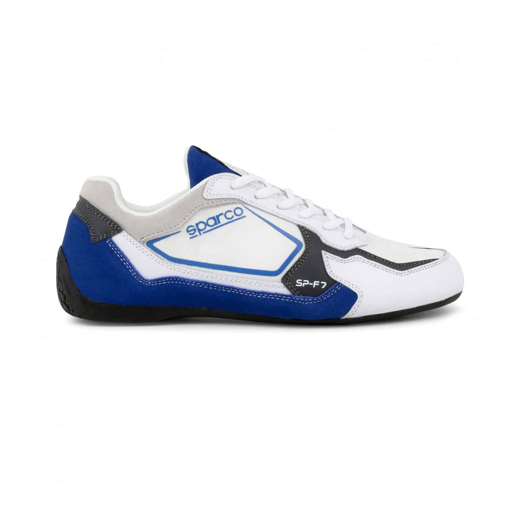 Sneakers Sparco SP-F7 Blanc/Bleu sparcofashion.fr