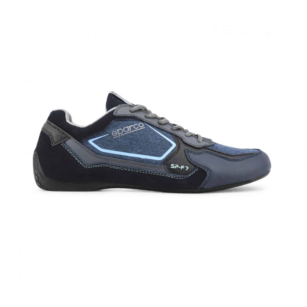Sneakers Sparco SP-F7 Marine/Turquoise sparcofashion.fr