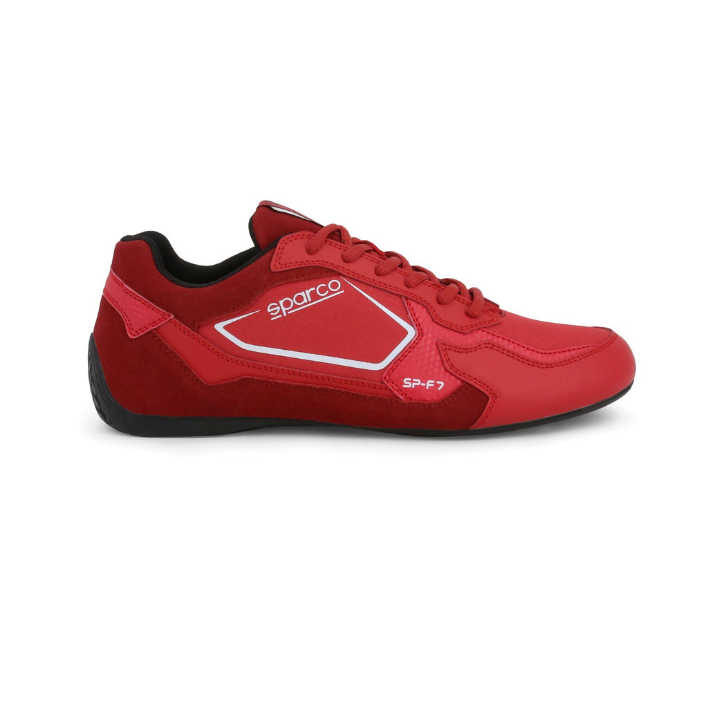 Sneakers Sparco SP-F7 Rouge/Blanc esprit racing Sparco Fashion