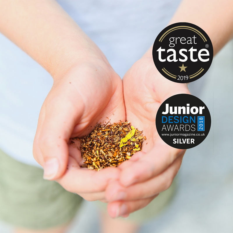 Great Taste and Junior Design Awards for Small & Wild tea