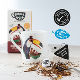 Happy Toucan plastic free tea bags