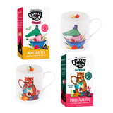 Jolly Croc & Merry Tiger fruit tea and mugs bundle