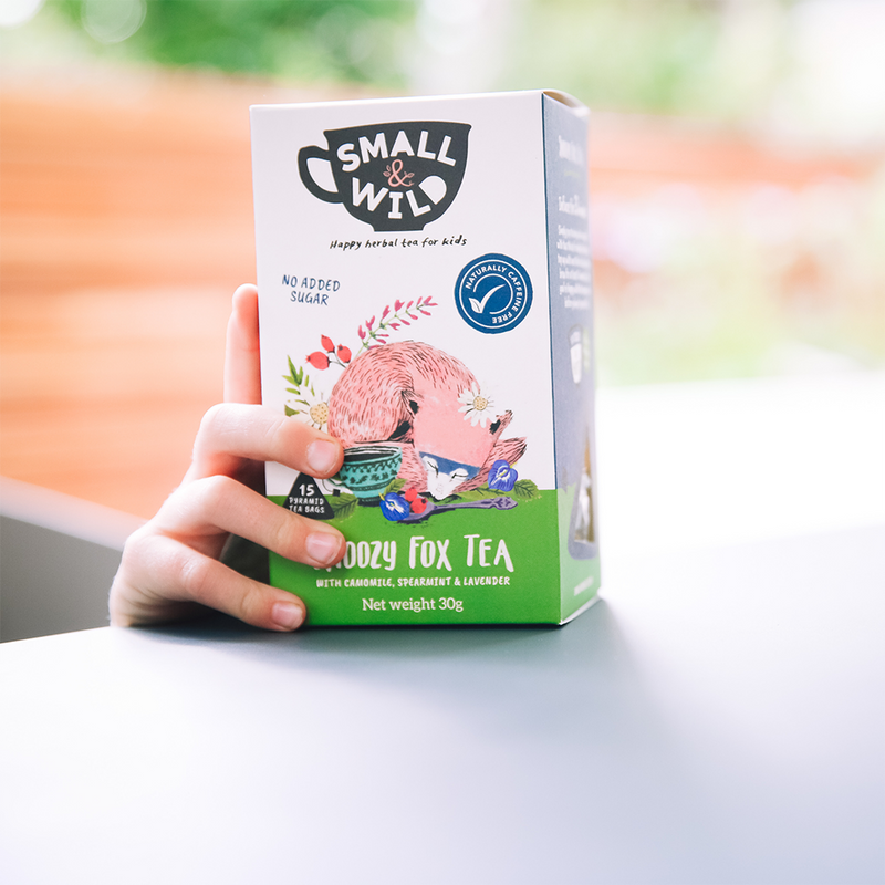 Snoozy Fox herbal tea 4-pack