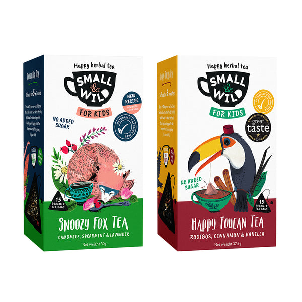 Calming tea for kids from Small & Wild