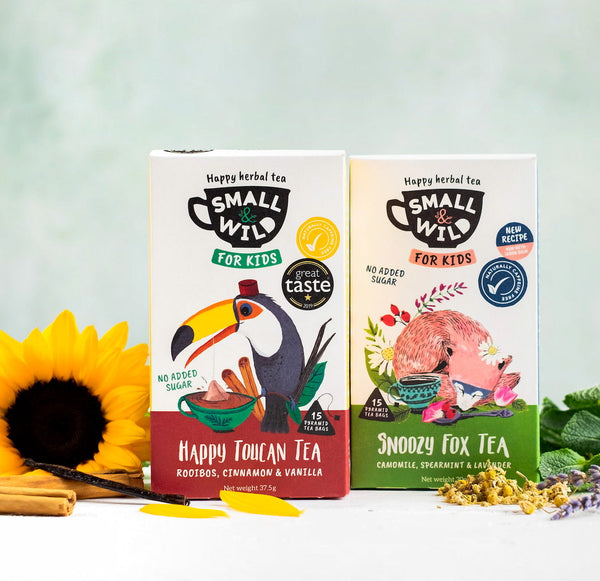 Pack of 2 calming kids tea from Small & Wild