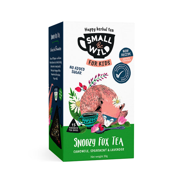 Snoozy Fox chamomile tea for kids