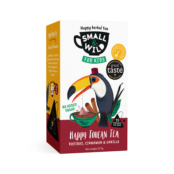 Happy Toucan rooibos tea for kids
