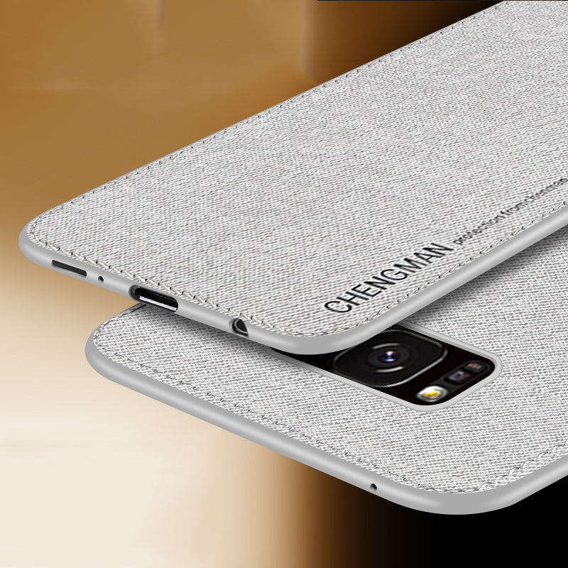 S8 S9 Plus Case best Cloth Fabric Phone Cases For 