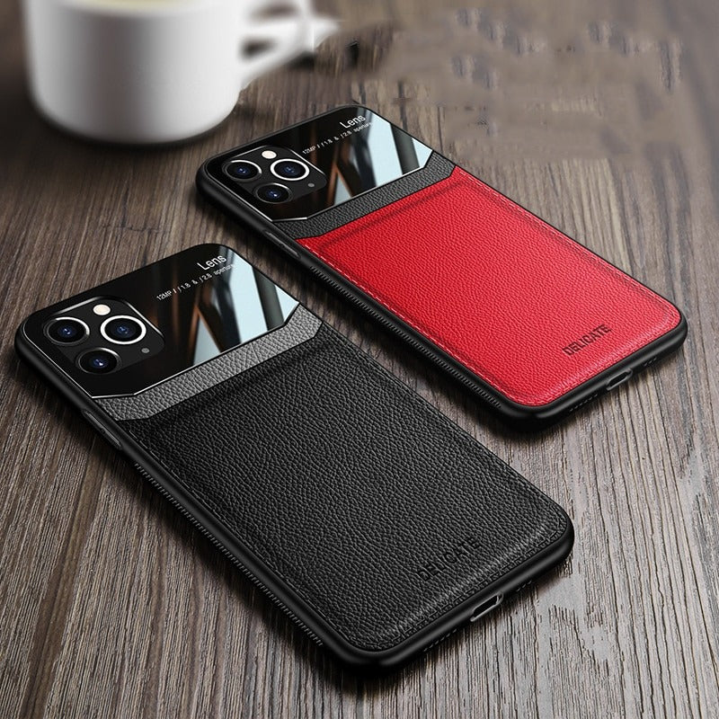 ZUIDID premium leather phone case for iPhone 12